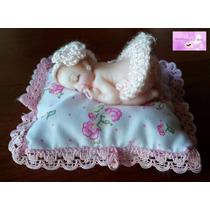 Souvenir Nacimientos O Bautismos - Bebés En Porcelana Fría