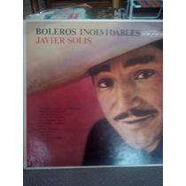 Javier Solis - Boleros Inolvidables (vinilo)