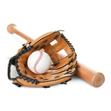 Set Kit Softball - Bate + Pelota + Guante - Gymtonic