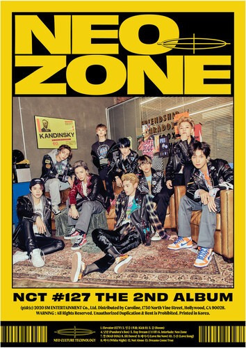 Nct 127 The 2nd Album 'nct #127 Neo Zone' [n Ver.] Cd Us Imp