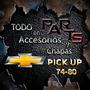 Moldura Sup. De Parrilla 79/80 Chevrolet Pick-up Y Mas...