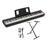 Piano Electrico Roland Fp10 + Fuente Y Soporte
