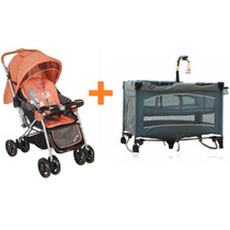 Imperdible Combo Bebe Coche Cuna + Practicuna +kiddy
