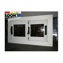 Ventana Aluminio 60x30 Vidrio Entero Fabricante Zona Oeste