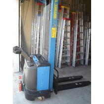 Autoelevador Apilador Electrico Retractil 1000kg M/buen Est