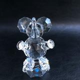 Figura De Cristal Bohemia - Elefante Sentado
