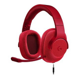 Auriculares Logitech G433 Red