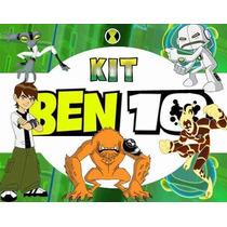 Kit Imprimible Ben 10 Diseñá Tarjetas , Cumpleaños Y Mas