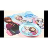 Set Frozen Disney Y Peppa..individuales , Cubiertos , Platos