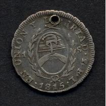Guardia Imp. Pcias Del Rio De La Plata - 1 Sol 1815 F L