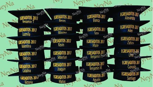 Gorro De Egresado Jardín - Egresaditos 2019 + Nombre d34b0d0f251