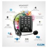 Cabezal Telefonico Con Vincha Y Teclado Elgin Hst-6000