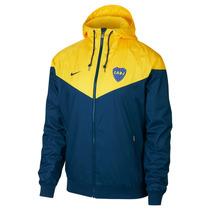 Campera Nike Hombre Boca Juniors Windrunner 2018126-sc