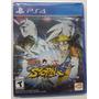 Naruto Shippuden Ultimate Ninja Storm 4 Ps4 Fisico Nuevo Ya
