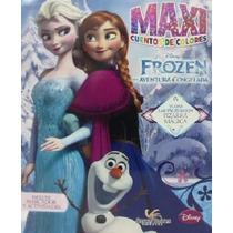 Libro: Maxicuentos De Colores Frozen Una Aventura Congelada