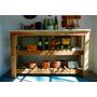 Mesa De Arrime Para Cocina Diseño Madera Y Marmol