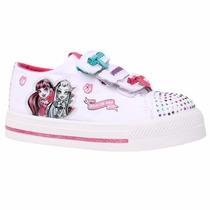 Disney Zapatillas Lona Monster High Con Luz Y Abrojo