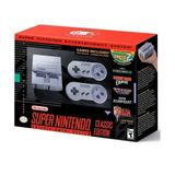 Super Nintendo Snes Classic Edicion + 21 Juegos + 2 Joystick