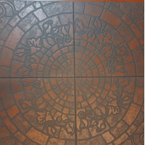 Ceramico Terracota Antideslizante 40x40 Exterior/int 1° Cal.