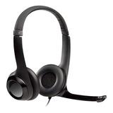 Auricular Vincha Logitech Clearchat H390 Micrófono Usb Skype