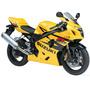 Moto Suzuki Gsx R600 Maisto Metal 2 Wheeler 1:18 Colección