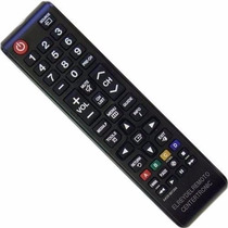 Control Remoto Para Samsung, Aa59-00604a Led Tv 3d, Lcd