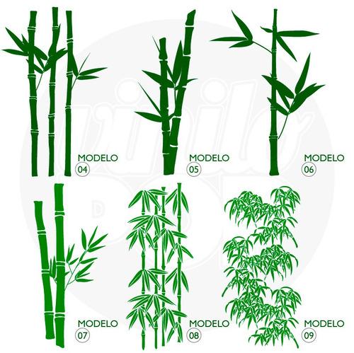 Vinilos Decorativos Cañas Bambu Bamboo Ploteo Pared Vidrio