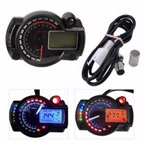 Velocimetro Tacometro Digital Universal Para Moto Kmh O Mph