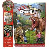 Libros Mis Dinos De Carton, Asombroso Mundo De Dinosaurios