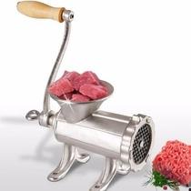 Maquina Picar Picadora Carne N° 12 Fundicion Manual Metalica
