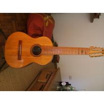 Guitarra Española 8 Cuerdas, Con Mic Pizoeléctrico