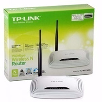 Router Inalambrico Tp-link Tl-wr720n Ant Interna Wifi 150 Mb
