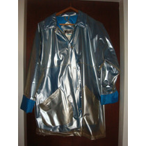 Piloto - Impermeable Mujer - Azul Eléctrico Talle S