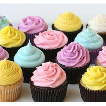 Recetas Cupcakes Con Videos Kit Moldes Wrappers Y Toppers