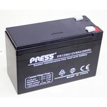Bateria Gel 12v 9ah Recargable Alarmas Ups Iluminacion Luces
