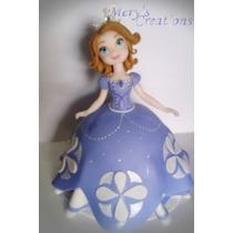 Princesa Sofía (adorno De Torta, Porcelana Fria) Sofia