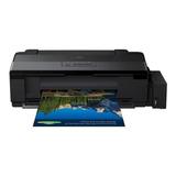 Impresora A Color Epson Ecotank L1300 110v Negra