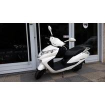 Jm-motors Honda Elite 125 Blanca Scooter Entrega Inmediata