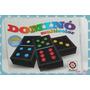 Domino Multicolor 28 Fichas Plasticas Negras Ruibal Sipi