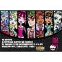 Monster High Invitaciones Tarjetas Cumpleaños Personal X10