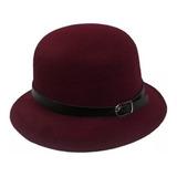 Sombrero Bombín De Fieltro