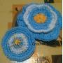 Escarapelas Floripelas A Crochet