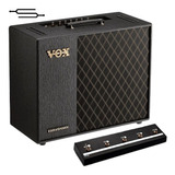 Vox Vt40 + Fx Amplificador Guitarra 40w + Footswich - Envio