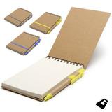 Cuaderno Anotador Ecológico Reuseme Opcional Logo * Recoleta