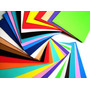 Goma Eva 42 X 56 X 0.17 Cm Pack X 10 Colores Surtidos
