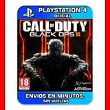 Cod Black Ops 3 Ps4 Digital | Completamente En Español !!!!