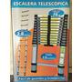 Escalera Telescopica Aluminio 3,8 Metros 13 Escalones