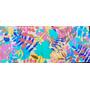 Mural De Flores. Tecnica Acrilico. Mucho Color!!