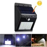Luz Exterior Solar De 20  Leds Para Jardines Parques/garages
