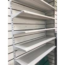 Rieles Para Estantes.Estantes Metalicos Para Rieles Y Mensulas 35x90cm En Venta En San